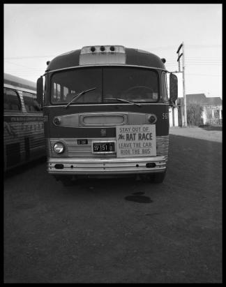 Агитация использования общественного транспорта в США