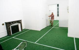 Бенедетто Буфалино. Превращаем квартиру в теннисный корт