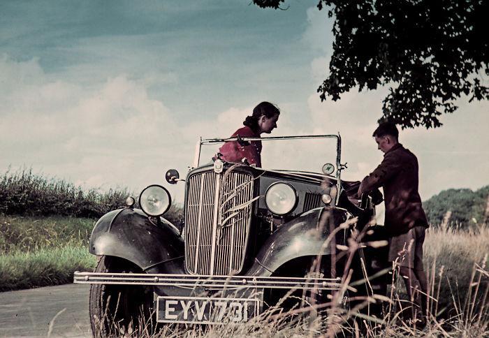 Фотографии молодоженов. За несколько недель до начала Второй мировой войны