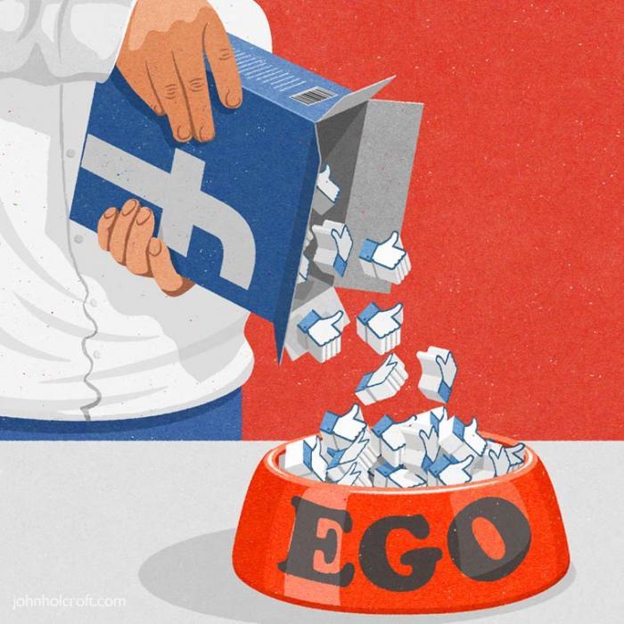 Лучшие иллюстрации высмеивающие общество потребления