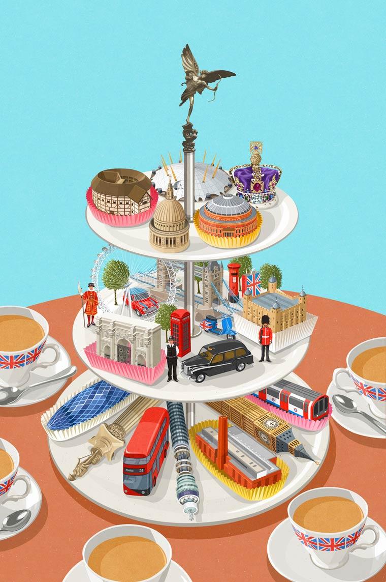 Иллюстрации на тему общества потребления. Фото № 10