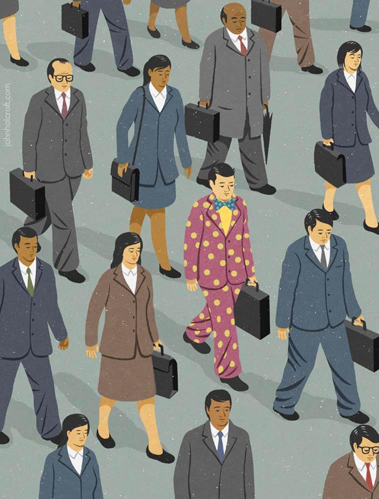 Иллюстрации на тему общества потребления. Фото № 11