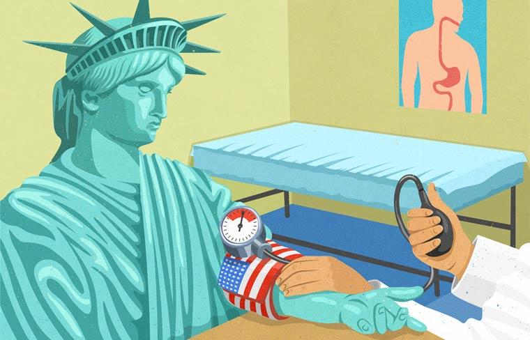 Иллюстрации на тему общества потребления. Фото № 13
