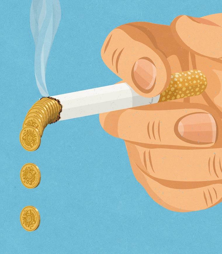 Иллюстрации на тему общества потребления. Фото № 17