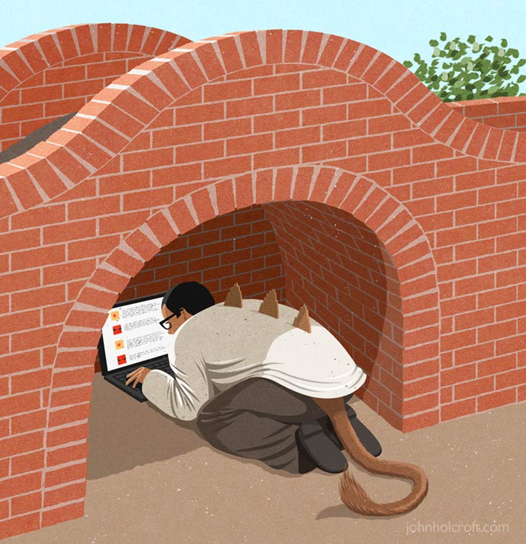 Иллюстрации на тему общества потребления. Фото № 18
