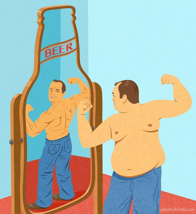 Иллюстрации на тему общества потребления. Фото № 5
