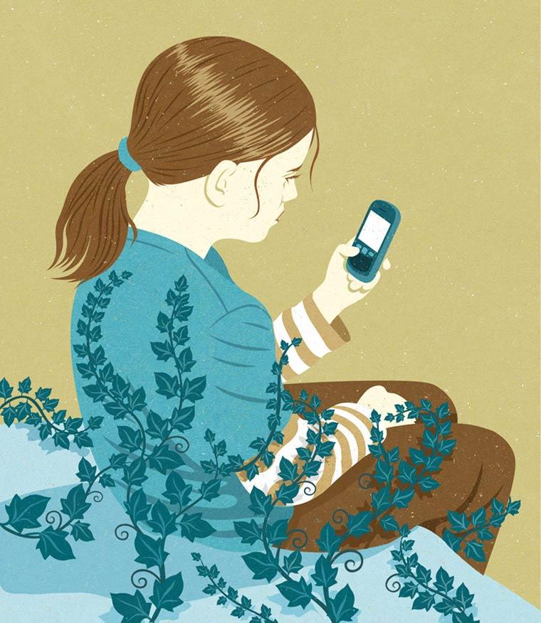 Иллюстрации на тему общества потребления. Фото № 7