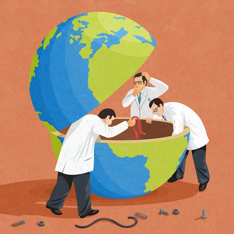 Иллюстрации на тему общества потребления. Фото № 8