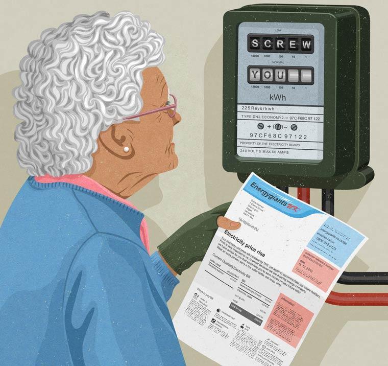 Иллюстрации на тему общества потребления. Фото № 9