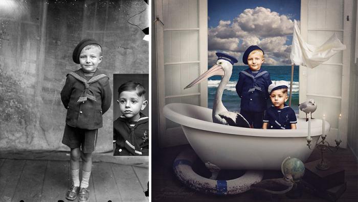 Реставрация фотографий. Из забвения в красочное искусство