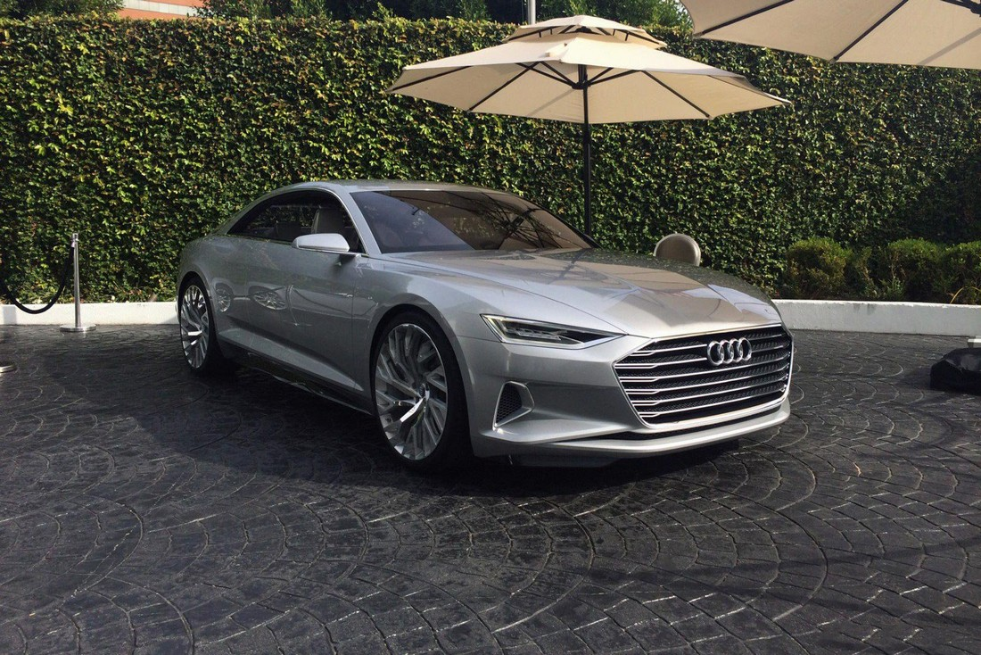 Ауди Пролог. Audi Prologue Concept . Фото№10