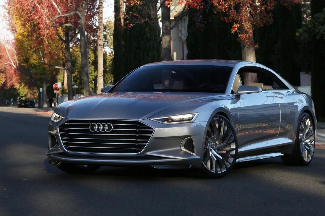 Ауди Пролог. Audi Prologue Concept . Фото№11