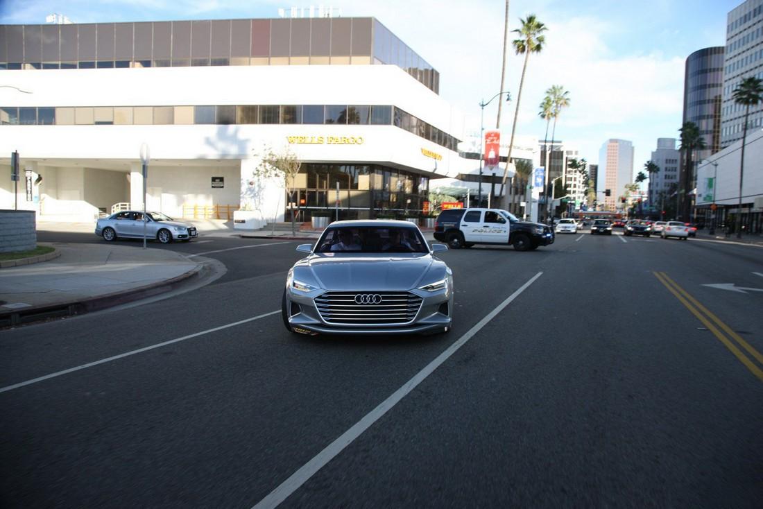 Ауди Пролог. Audi Prologue Concept . Фото№12