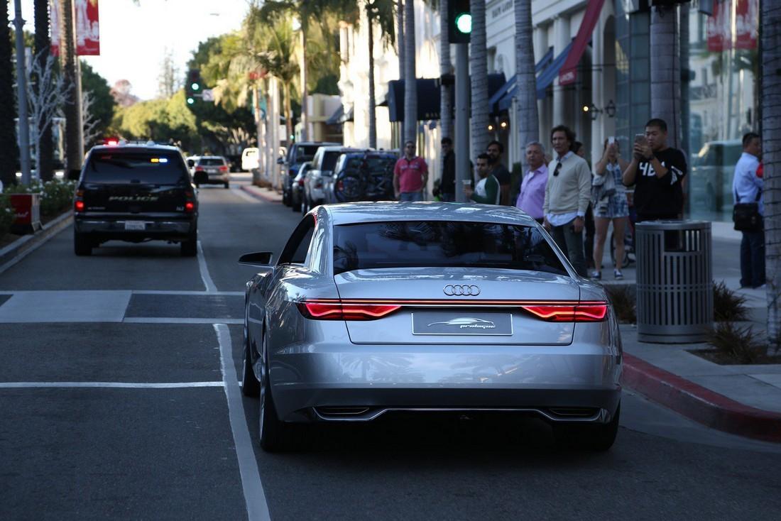 Ауди Пролог. Audi Prologue Concept . Фото№13