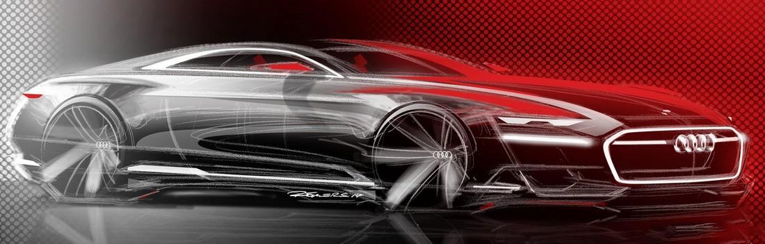 Ауди Пролог. Audi Prologue Concept . Фото№14