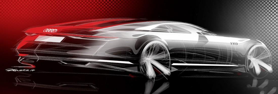 Ауди Пролог. Audi Prologue Concept . Фото№15