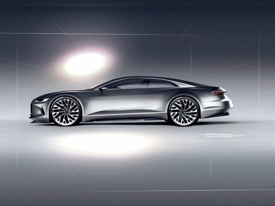Ауди Пролог. Audi Prologue Concept . Фото№17