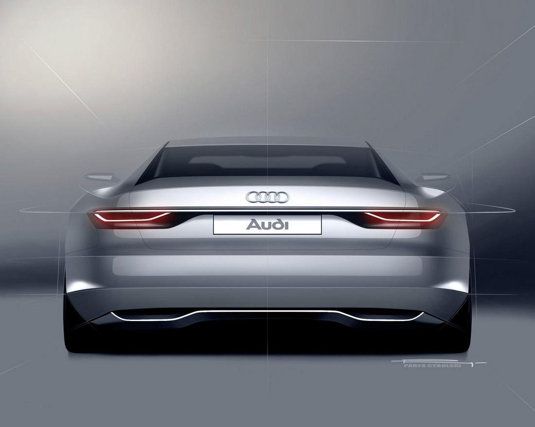 Ауди Пролог. Audi Prologue Concept . Фото№19
