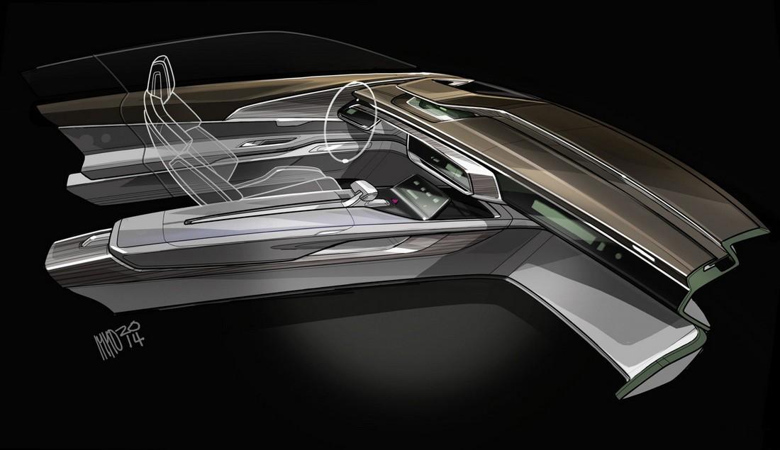 Ауди Пролог. Audi Prologue Concept . Фото№23