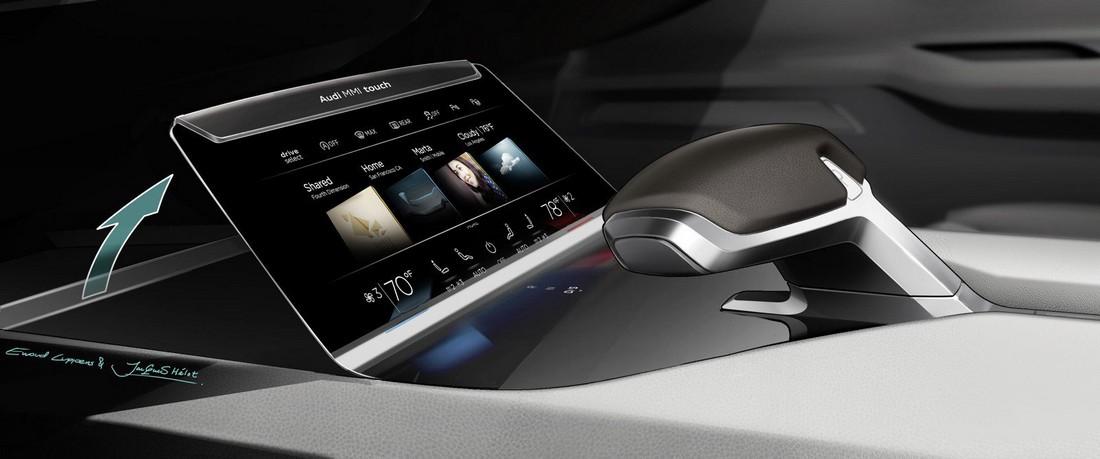Ауди Пролог. Audi Prologue Concept . Фото№24