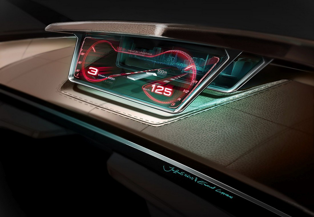 Ауди Пролог. Audi Prologue Concept . Фото№25