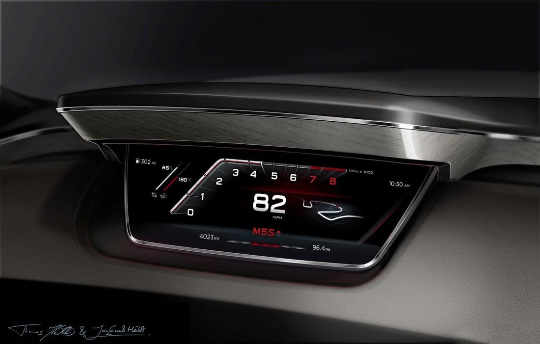Ауди Пролог. Audi Prologue Concept . Фото№26