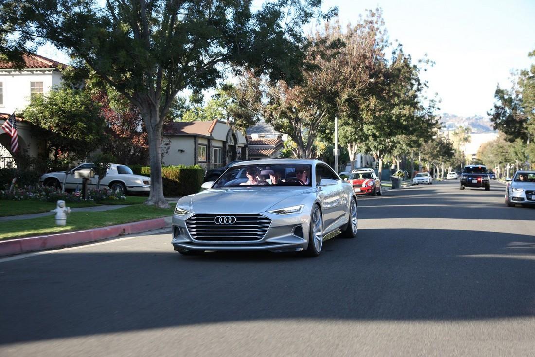 Ауди Пролог. Audi Prologue Concept . Фото№3