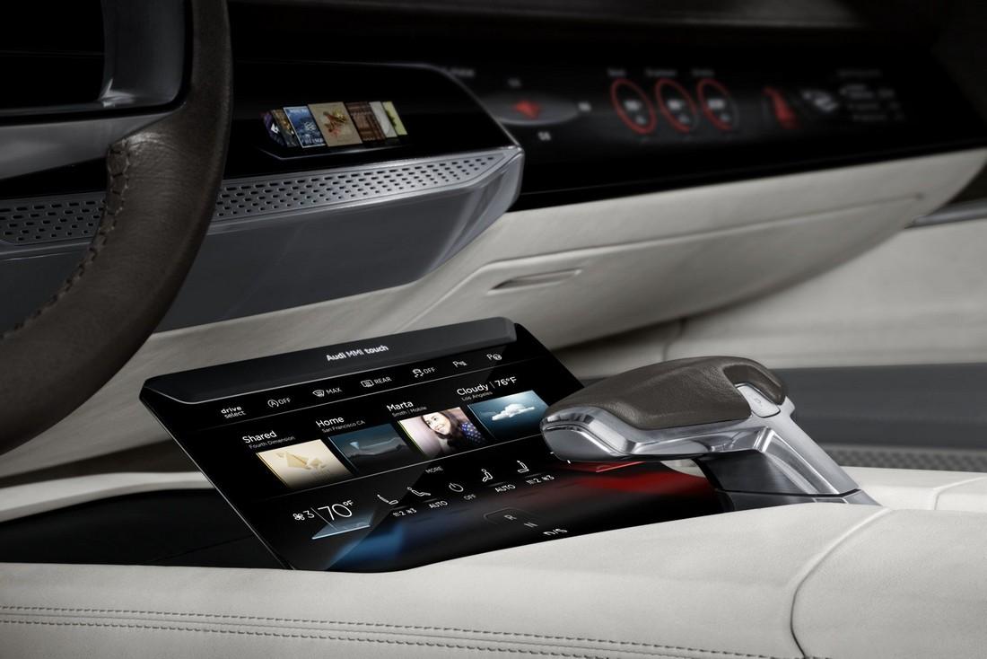 Ауди Пролог. Audi Prologue Concept . Фото№32