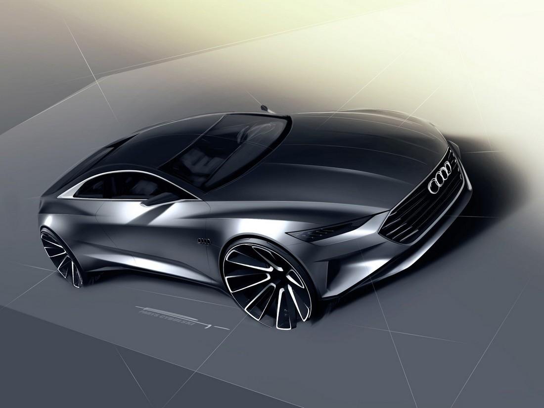 Ауди Пролог. Audi Prologue Concept . Фото№4