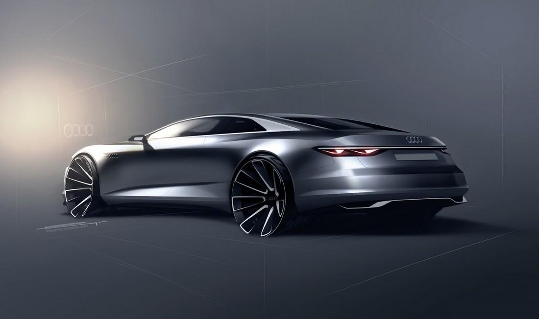 Ауди Пролог. Audi Prologue Concept . Фото№5