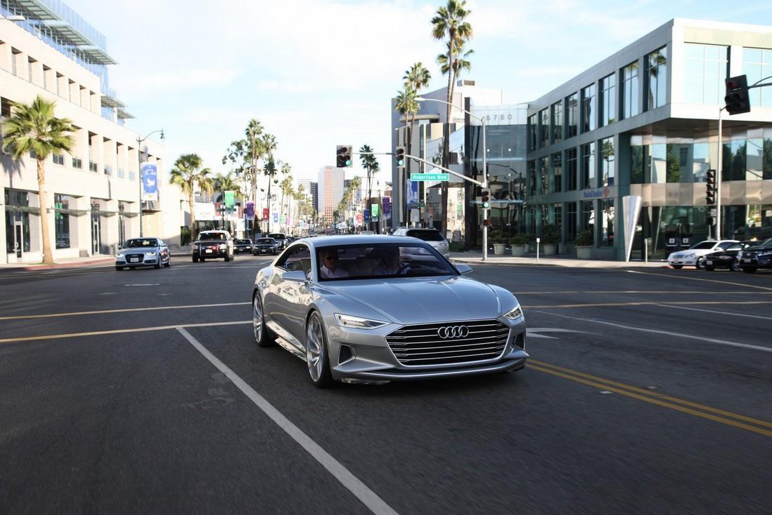 Ауди Пролог. Audi Prologue Concept . Фото№6