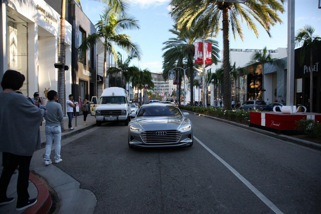 Ауди Пролог. Audi Prologue Concept . Фото№9