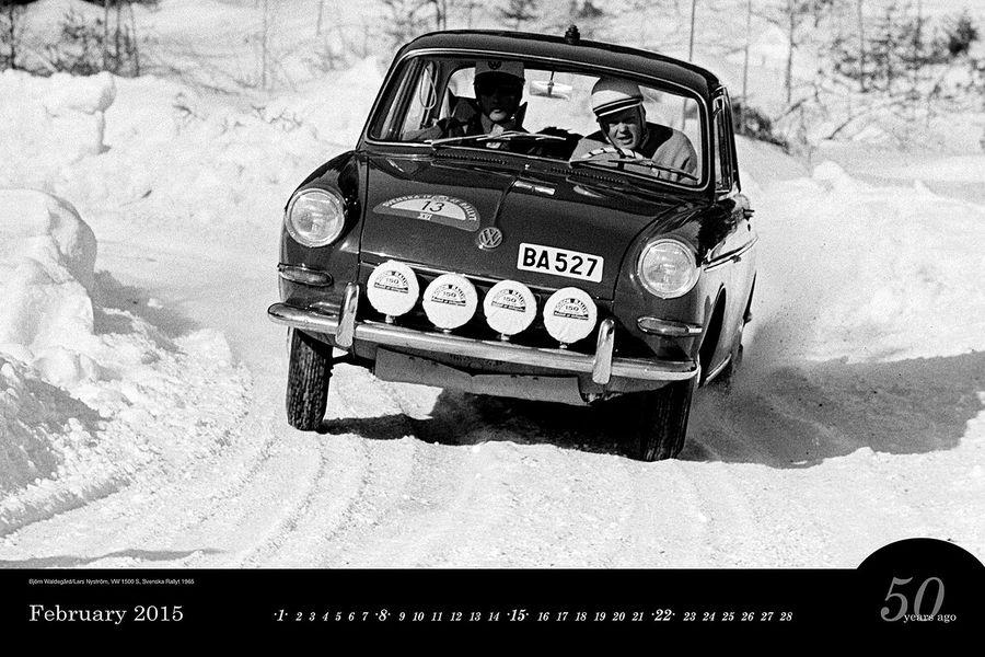 Автомобильный календарь 2015. Фото
