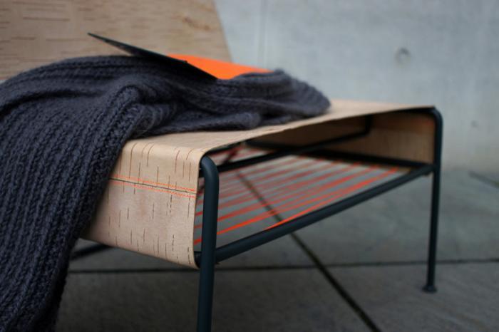 Кресло из бересты. «Сибиряк» от Анастасии Кощеевой