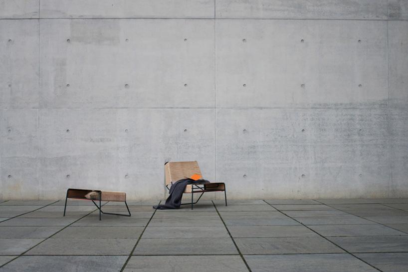 Дизайнер Анастасия Кощеева. Стул из березовой коры. Фото № 9