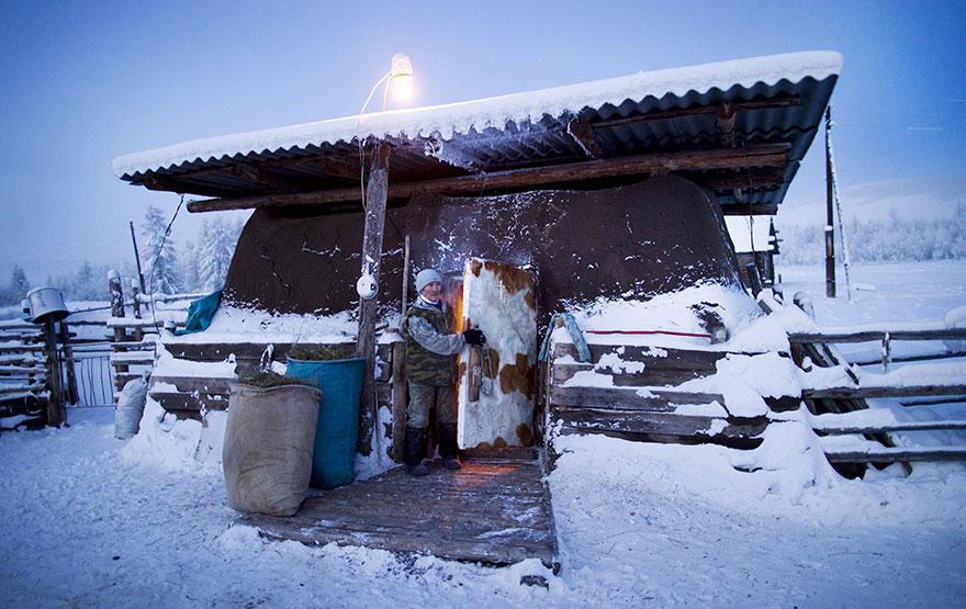 Фотопутешествие из Якутска в Оймякон. Самое холодное место на земле. Фото № 11