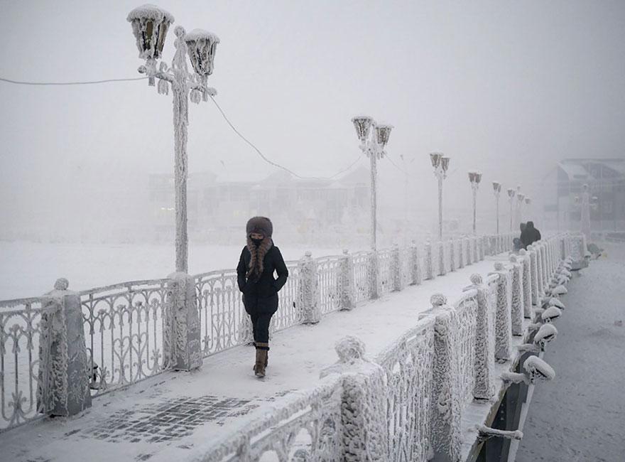 Фотопутешествие из Якутска в Оймякон. Самое холодное место на земле. Фото № 16