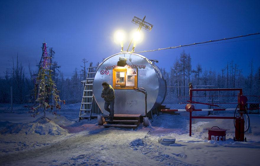 Фотопутешествие из Якутска в Оймякон. Самое холодное место на земле. Фото № 19