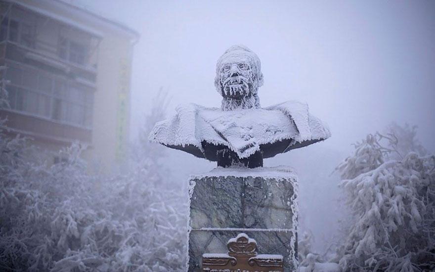 Фотопутешествие из Якутска в Оймякон. Самое холодное место на земле. Фото № 4