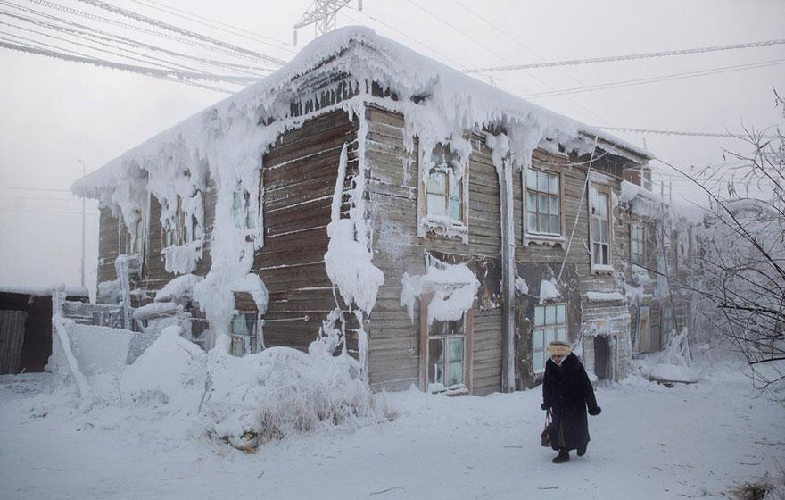 Фотопутешествие из Якутска в Оймякон. Самое холодное место на земле. Фото № 8
