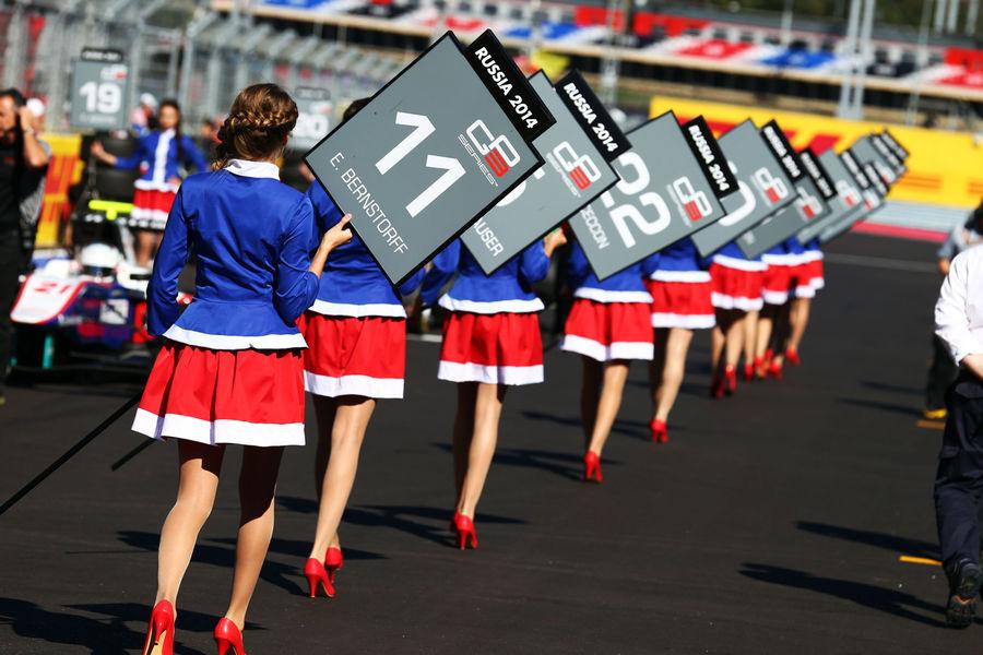 Гран-при России. Формула1 2015. Девушки_10