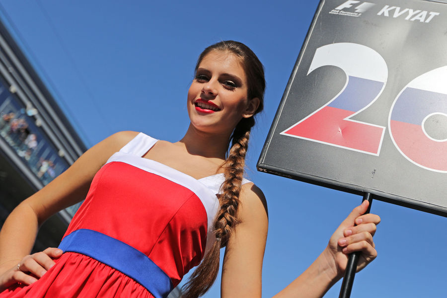 Гран-при России. Формула1 2015. Девушки_12