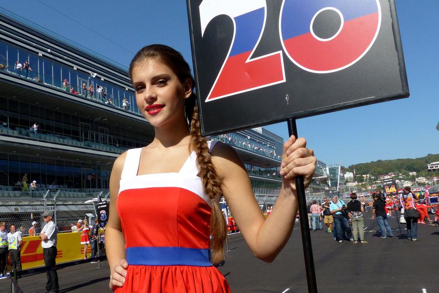 Гран-при России. Формула1 2015. Девушки_15