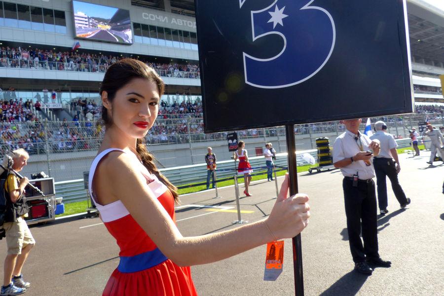 Гран-при России. Формула1 2015. Девушки_26