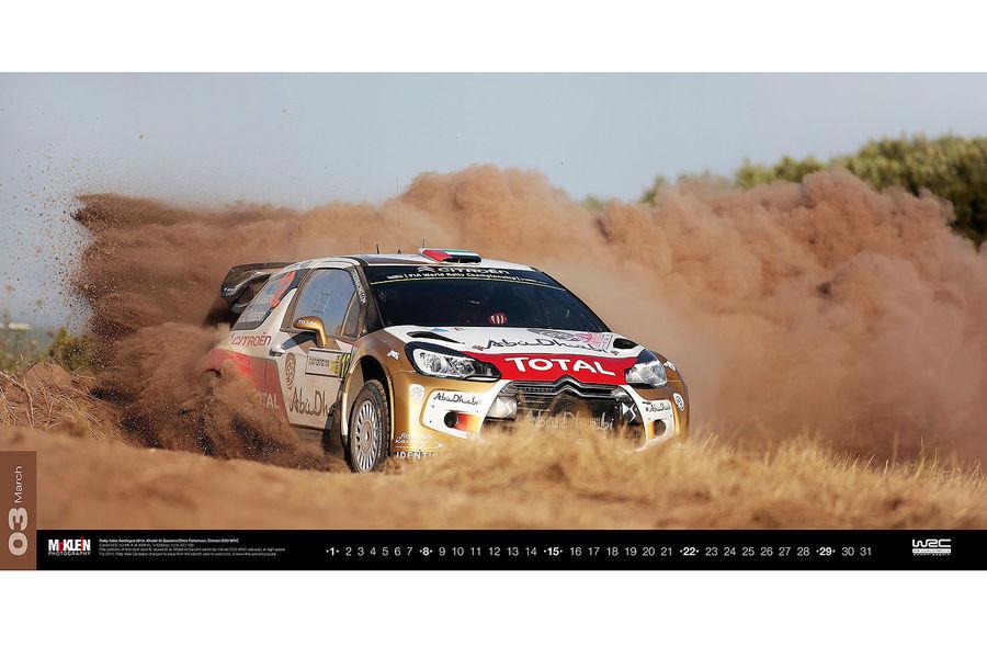 Календарь WRC 2015. Спортивные автомобили чемпионата по ралли. Фото № 1