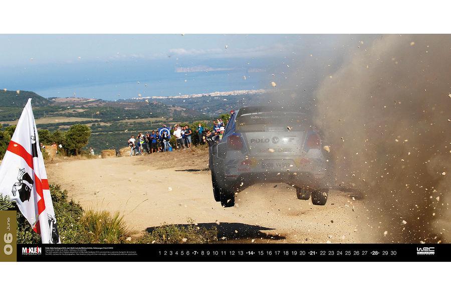 Календарь WRC 2015. Спортивные автомобили чемпионата по ралли. Фото № 12