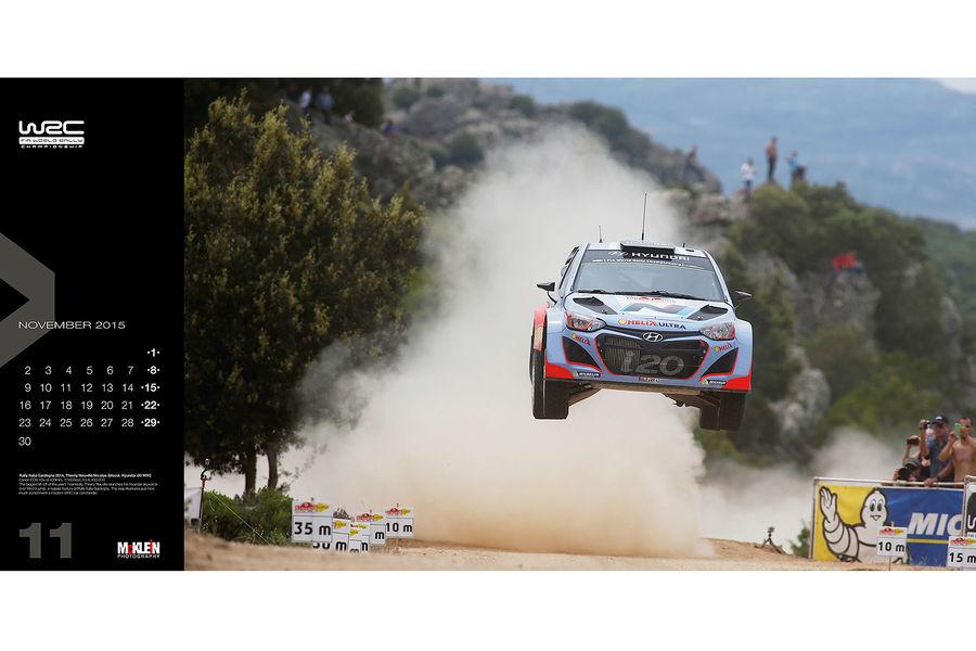 Календарь WRC 2015. Спортивные автомобили чемпионата по ралли. Фото № 2