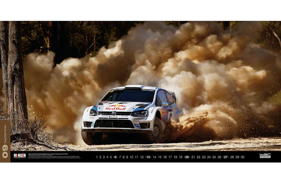 Календарь WRC 2015. Спортивные автомобили чемпионата по ралли. Фото № 3