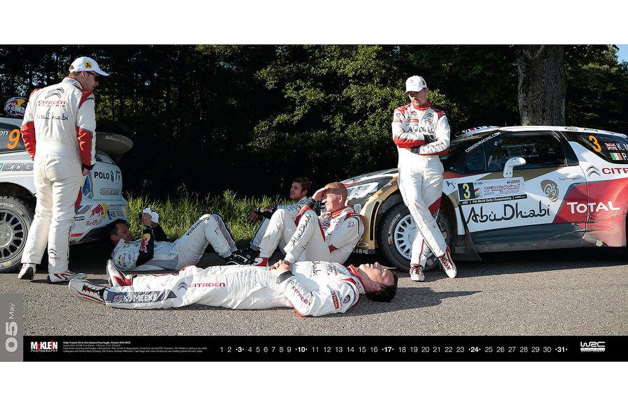 Календарь WRC 2015. Спортивные автомобили чемпионата по ралли. Фото № 4