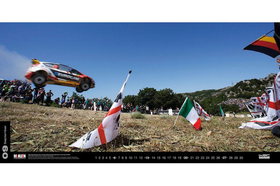 Календарь WRC 2015. Спортивные автомобили чемпионата по ралли. Фото № 9